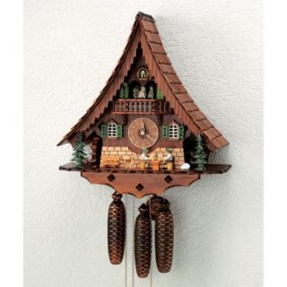 Schneider 18 Inch Water Wheel Cuckoo Clock   Cuckoo Clocks