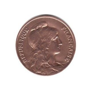 1912 France 10 Centimes Coin KM#843
