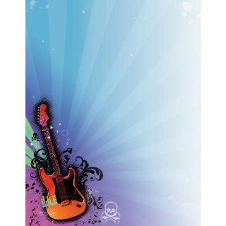 Rock Star 2010 Laser Sheet   25/Pkg.: Toys & Games