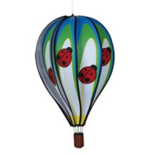 Premier Designs 22 in. Ladybug Hot Air Balloon Wind Spinner   Wind Spinners