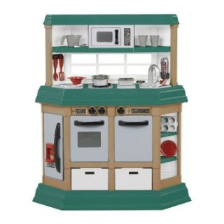 American Plastic Toys Cookin Kitchen   Play Kitchens
