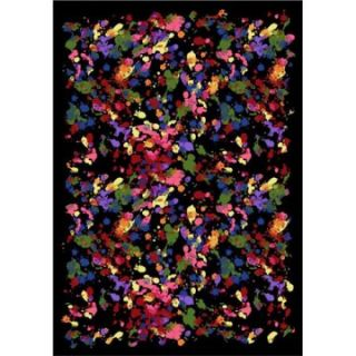 Joy Carpets Splatter Paint Area Rug   Kids Rugs
