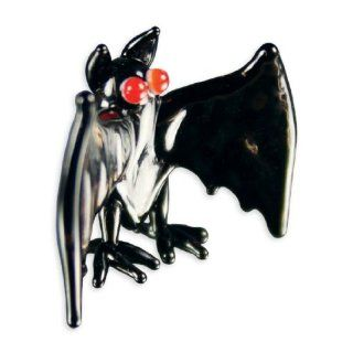 Looking Glass Count the Vampire Bat Glass Collectible Figurine: Toys & Games