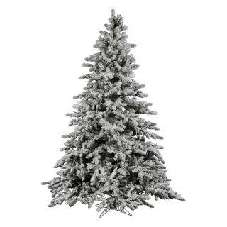 Vickerman 14 ft. Flocked Utica Fir Christmas Tree   Christmas Trees