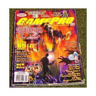 Gamepro Magazine February 1998, Issue 113 (10) various Books