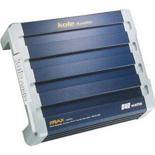 Kole Audio TRAX4 840 Watt Four Channel MOSFET Power Amplifier  Vehicle Multi Channel Amplifiers