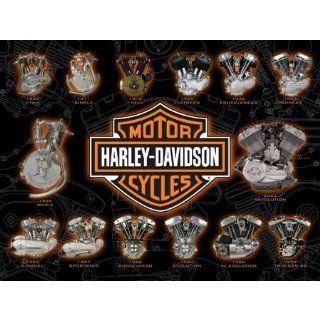 Harley Davidson Engine Power Jigsaw Puzzle 1000pc Toys & Games