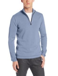 Calvin Klein Jeans Men's Long Sleeve Half Zip Sweater, Atlas Blue, XX Large at  Men�s Clothing store