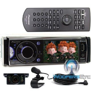 pkg Pioneer DVH 855AVBT In Dash DVD/ Car Stereo Receiver with Bluetooth and USB Input + XO Vision HTC37 Backup Camera w/ Night Vision Water Resistant & Parking Guideline  Vehicle Cd Player Receivers