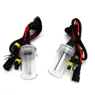DEDC New 1 pair 35w 880 5000K HID Xenon Lights Replacement Bulbs HID lights Automotive