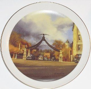 The Eagle Gate Collector Plate (Limited Edition Utah Collection)  Commemorative Plates