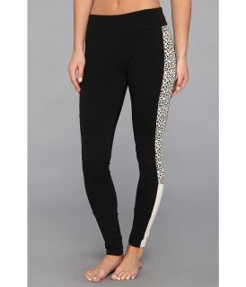 PUMA Animal Print Legging Womens Casual Pants (Black)