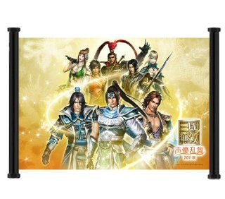 """Dynasty Warriors Game Fabric Wall Scroll Poster (26""""x16"""") Inches : Prints : Everything Else"""