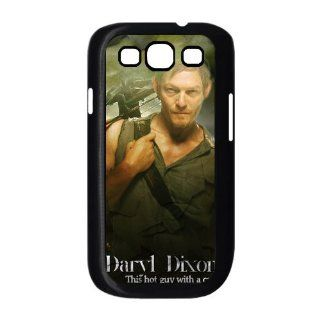 The Walking Dead Daryl Dixon Samsung Galaxy S3 i9300 Case Well designed Durable Samsung Galaxy S3 i9300 Hard Cover Case Cell Phones & Accessories