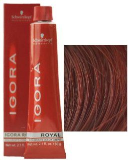 Schwarzkopf Professional Igora Royal Hair Color   6 888 Drk Int Red Coppr Blond : Chemical Hair Dyes : Beauty