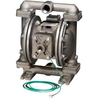 Sandpiper Air Operated Double Diaphragm Pump   1in. Inlet, 45 GPM, Aluminum/B: Home Improvement