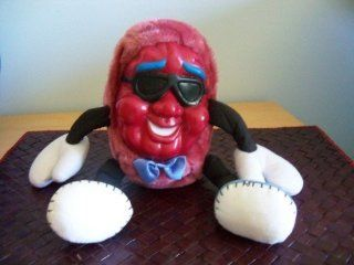 """Vintage Classic California Raisins 15"""" Plush Doll with Rubber Face IMPOSSIBLE TO FIND   GREAT COLLECTIBLE Toys & Games"""