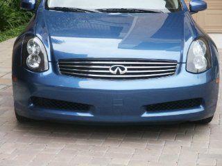 Infiniti G35 2Dr Headlights Headlight Overlays GTR Style 2004 2005 2006 2007 2008 2009 04 05 06 07 08 09 Automotive
