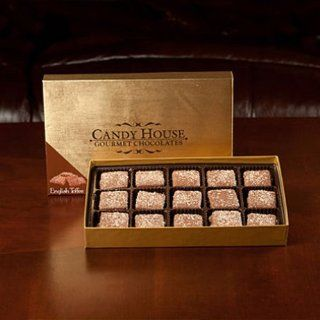 Candy House Milk Chocolate English Toffee   30 Pcs. SCS  Chocolate Chip Cookies  Grocery & Gourmet Food