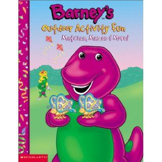 Barney's Outdoor Activity Fun Gayla Amaral, Darren Mckee 9781586682958 Books