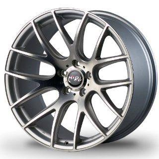 Miro Type111 19x8.5 19x9.5 Custom Wheel Silver Machine Polish Face Nissan Infiniti BMW Mercedes benz Wheels Automotive