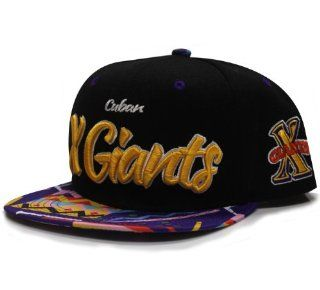 City Hunter Nf720 Cuban X Giants Nlbm Team Snapback   Black: Everything Else