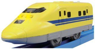Plarail   TP 04 Tecology Series: Type 923 Doctor Yellow (Model Train): Toys & Games