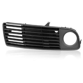 One Piece Of Left Driver Side Perfect Replacement Front Lower Fog Light Grille Insert Bumper for 1998 1999 2000 Audi A6 C5 Avant Quattro: Automotive