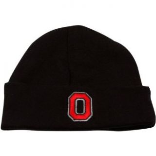 NCAA Top of The World Ohio State Buckeyes Infant Black Team Cuffed Knit Beanie Clothing