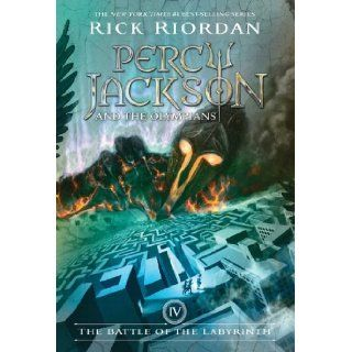 The Battle of the Labyrinth (Percy Jackson and the Olympians, Book 4): Rick Riordan: 9781423101499: Books