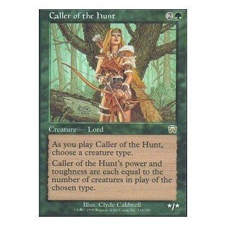 Magic: the Gathering   Caller of the Hunt   Mercadian Masques   Foil: Toys & Games