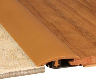 Cal Flor TT10431S Total Trim All In One Solid Color Molding, 46 Inch, Caramel   Wood Floor Coverings