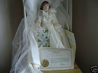 1982 Effanbee Princess Diana Doll in Wedding Dress : Other Products : Everything Else