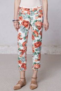 Anthropologie Tapestry Floral Charlie Trousers by Cartonnier