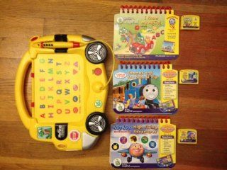 My First LeapPad System & 3 Books with Cartridges (Thomas, Jay Jay, Leap Frog) Toys & Games