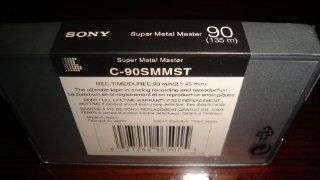 Sony Super Metal Master 90 Min Reference Audio Cassette Tape Electronics