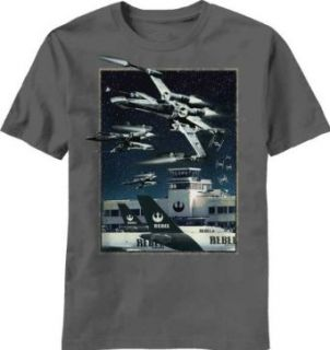 Star Wars Rebel Airline Sci Fi Kids Youth T Shirt Clothing