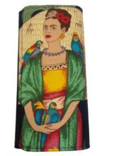 US Handmade Fashion Frida Kahlo Latino Artist Bi Fold Women's Wallet Ww1511 2: Shoes