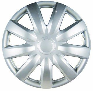 """White Knight WK 985C, Toyota Camry, 15"""" Silver/Lacquer Plastic Wheel Cover, Set of 4: Automotive"""