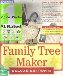 Family Tree Maker Deluxe Edition III Broderbund Software