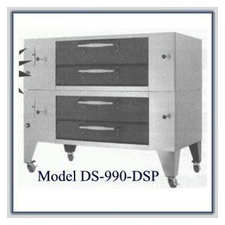Bakers Pride DS DSP Series Deck Oven  Bakers Pride DS 990 DSPNGShort Legs  Commercial Ovens