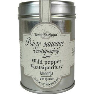 Wild Pepper Voatsiperifery, Madagascar   Terre Exotique : Peppercorns : Grocery & Gourmet Food