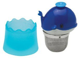 HIC Brands that Cook Floatin' Tea Infuser with Stainless Steel Basket, Whale Shape: Tea Strainers: Kitchen & Dining