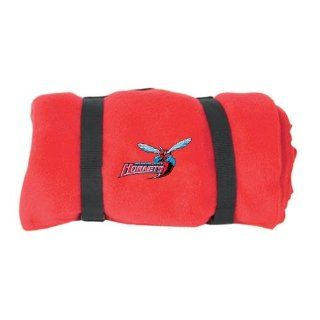 Delaware State Red Artic Fleeced Blanket 'Delaware State Hornets w/Hornet' : Sports Fan Throw Blankets : Sports & Outdoors