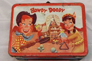 1954 Vintage Howdy Doody Lunch Box : Childrens Lunch Boxes : Everything Else