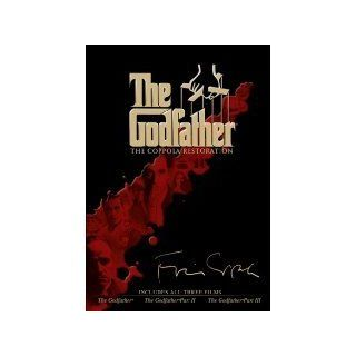 The Godfather Trilogy: The Coppola Restoration Edition 4 DVD Steelbook Case (The Godfather + The Godfather Part II + The Godfather Part III , 1972 / 1974 / 1990) El Padrino: La Trilog�a Remasterizada de Coppola 4 DVD [ NON USA FORMAT, NTSC, Reg.4 Import