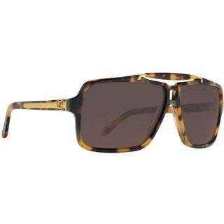 VonZipper Manchu Men's Fashion Sunglasses   Leopard Tort/Bronze / One Size Fits All: Automotive