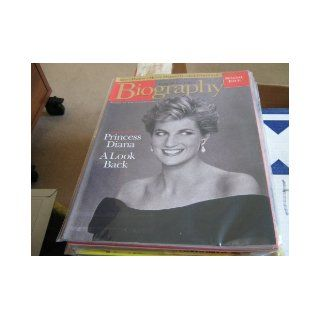 Biography Magazine September 1998 Special Issue Princess Diana A Look Back Biography Magazine September 1998 Special Issue Books