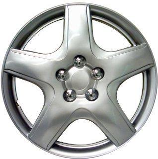 """Drive Accessories KT 987 15S/L, Toyota Matrix, 15"""" Silver Lacquer Replica Wheel Cover, (Set of 4): Automotive"""