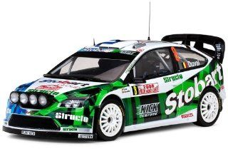 Ford Focus RS WRC07 #8 F.Duval/E.Chevaillier Rally Monte Carlo 2008 Night Race 1/18 by Sunstar 3946 Comes with numbered Certificate of Authenticity.Limited Edition 1 of 998 Produced Worldwide.: Toys & Games